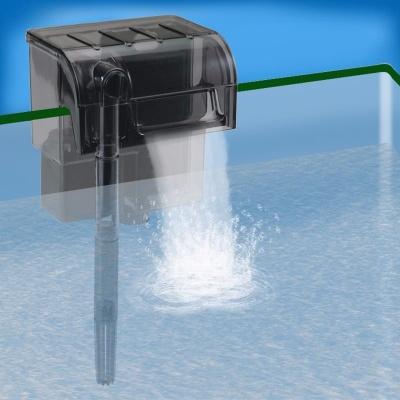 filtro a medida acuario de agua fria peces