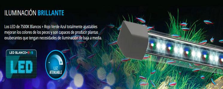 iluminacion fluval flex LED