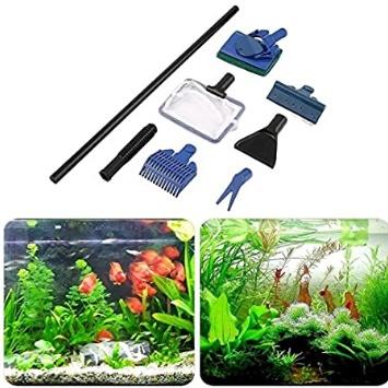 herramientas limpieza acuario