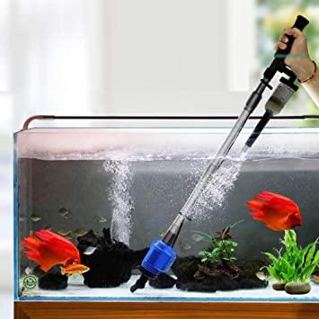 limpieza acuarios sifon agua